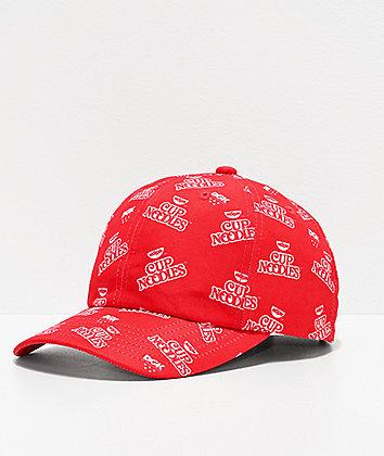 DGK x Cup Noodles Red Strapback Hat
