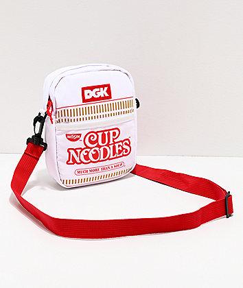 DGK x Cup Noodles White & Red Shoulder Bag