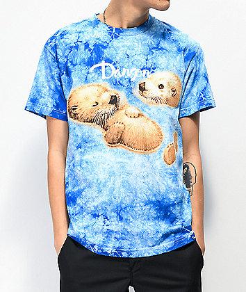 Danson Float On Blue Tie Dye T-Shirt