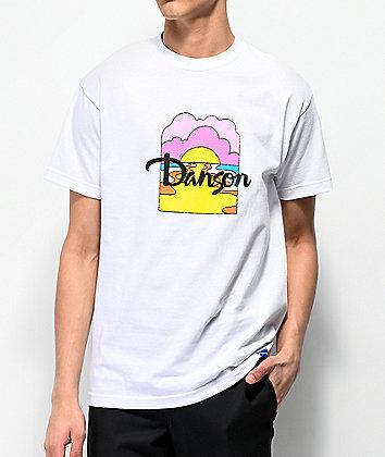 Danson Moon River White T-Shirt