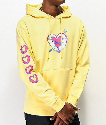 Danson Significant Otter Yellow Hoodie