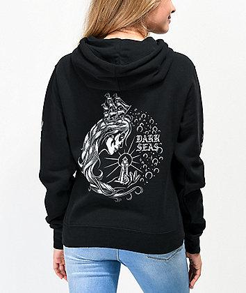 Dark Seas Enchantress Black Hoodie