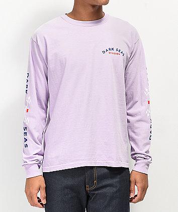 Dark Seas Headmaster Orchid Long Sleeve T-Shirt