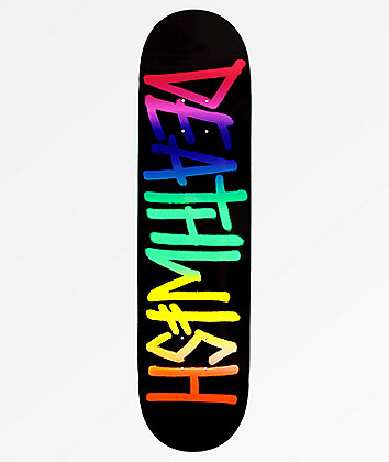 """Deathwish Deathspray ROYGBIV 8.0"""" Skateboard Deck"""