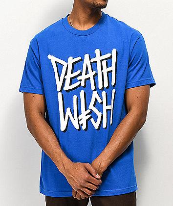 Deathwish Deathstack Blue T-Shirt