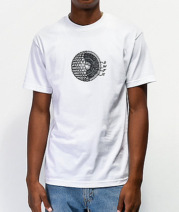 Deathworld Cellular White T-Shirt