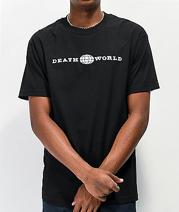 Deathworld Global Black T-Shirt