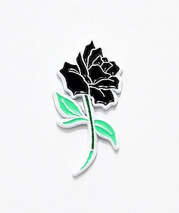 Deja Pins Black Rose Pin