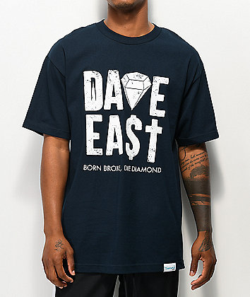 Diamond Supply Co. Dave East Navy T-Shirt