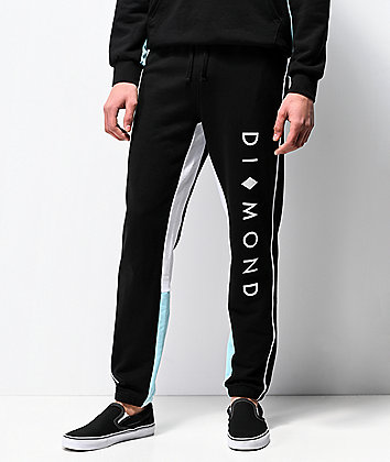 Diamond Supply Co. Fordham Black Sweatpants