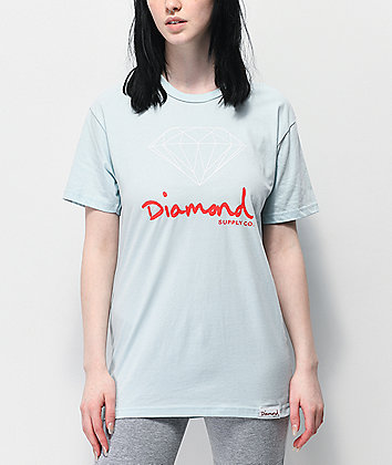 Diamond Supply Co. OG Sign Blue T-Shirt