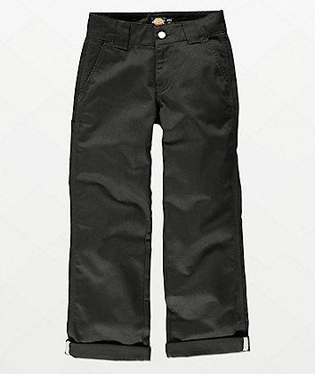 Dickies Boys Black Utility Pants