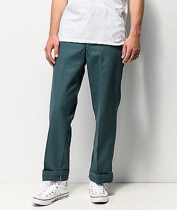 Dickies Regular Green Work Pants