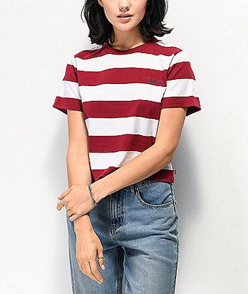 Dickies Stripe Brick Crop T-Shirt