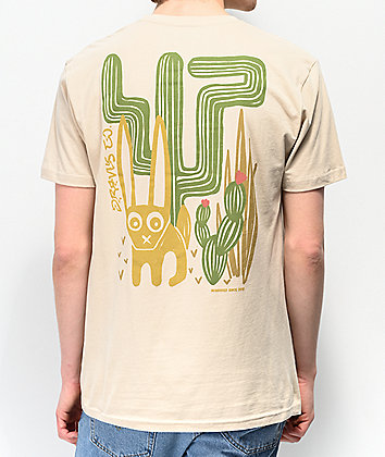 Dravus Desert Block Cream T-Shirt