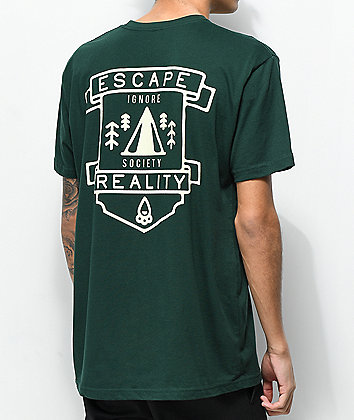 Dravus Escape Reality Green T-Shirt