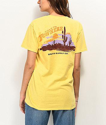 Dravus Road To Nowhere Yellow T-Shirt
