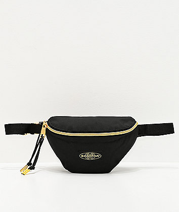 Eastpak Springer Goldout Black Fanny Pack