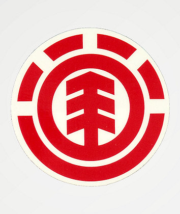 Element Icon Circle Logo Sticker