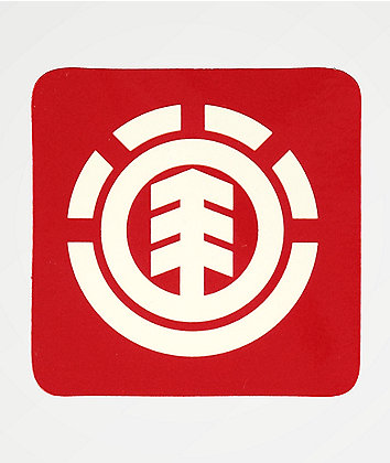 Element Icon Square Logo Sticker
