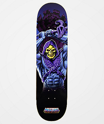 "Element x Masters Of The Universe Skeletor 8.5"" Skateboard Deck"