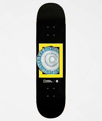 "Element x National Geographic Molecule 8.12"" Skateboard Deck"