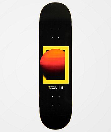 """Element x National Sun 8.25"""" Skateboard Deck"""