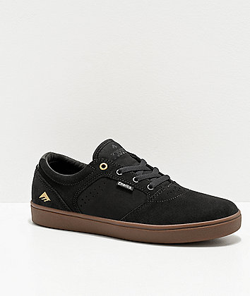 Emerica Figgy Dose Grey & Gum Skate Shoes