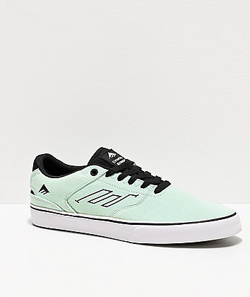 Emerica Reynolds Low Vulc Mint Skate Shoes