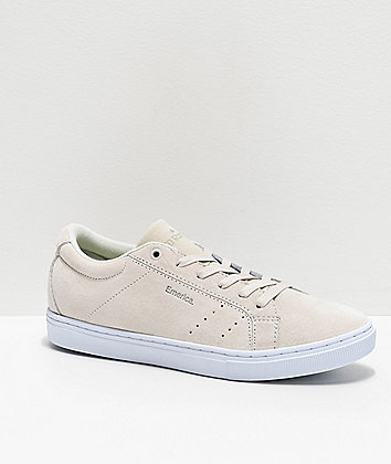 Emerica Romero Americana White Skate Shoes