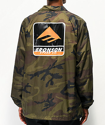 Emerica x Bronson Camouflage Coaches Jacket