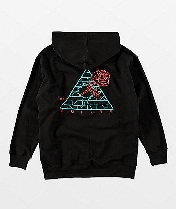 Empyre Boys Broken Roses Black Hoodie