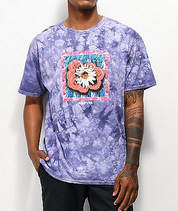 Empyre Dazey Daze Purple Wash T-Shirt