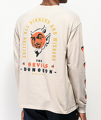 Empyre Devils Dungeon Cream Long Sleeve T-Shirt