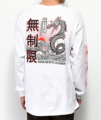 Empyre Forbidden White Long Sleeve T-Shirt