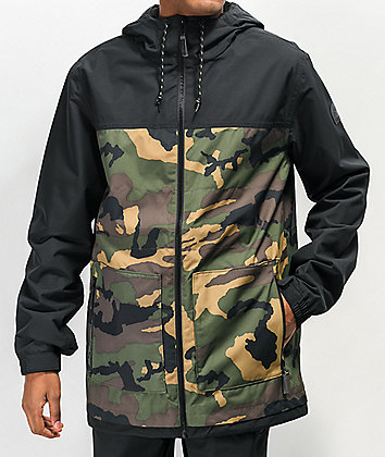 Empyre Larch 10K chaqueta de snowboard de camuflaje