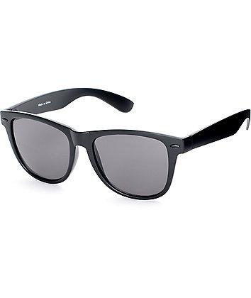 Empyre Quinn Matte Black Classic Sunglasses