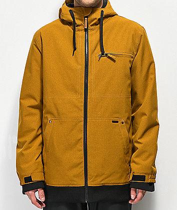 Empyre Rambler 10K chaqueta de snowboard marrón