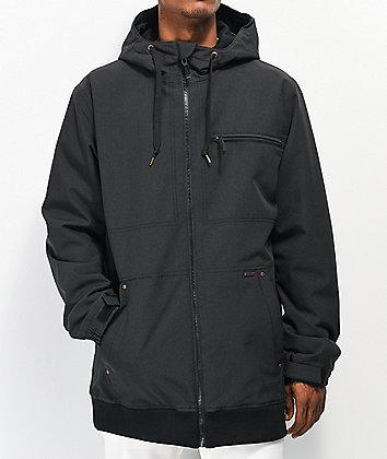Empyre Rambler 10K chaqueta de snowboard negra