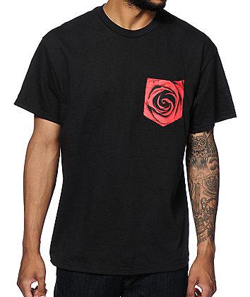 Empyre Rose Pocket T-Shirt