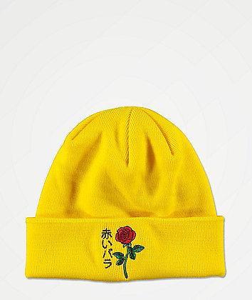 Empyre Rose Yellow Beanie