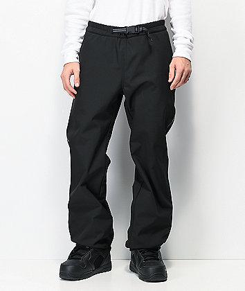 Empyre Softy 10K pantalones de snowboard negros y reflectantes