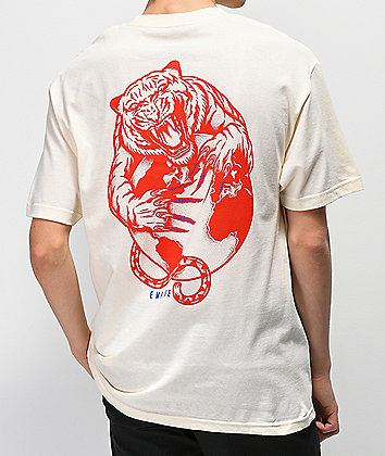 Empyre Tiger's World Cream T-Shirt