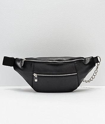 Empyre Yasmin Hardware Black Crossbody Bag