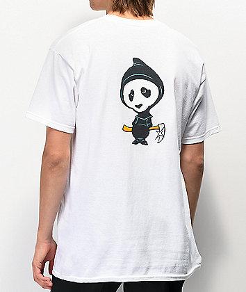 Enjoi Invision White T-Shirt