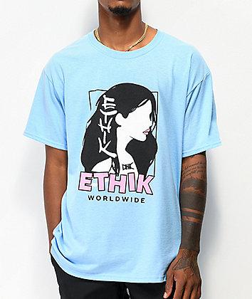 Ethik Girl Light Blue T-Shirt