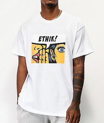 Ethik Rumor White T-Shirt