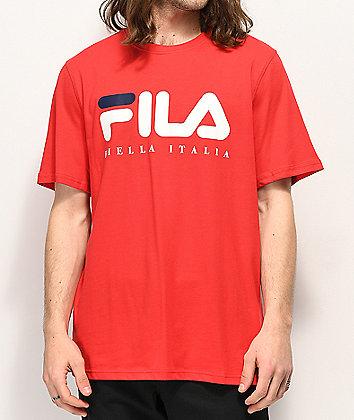 FILA Biella Italia Red T-Shirt