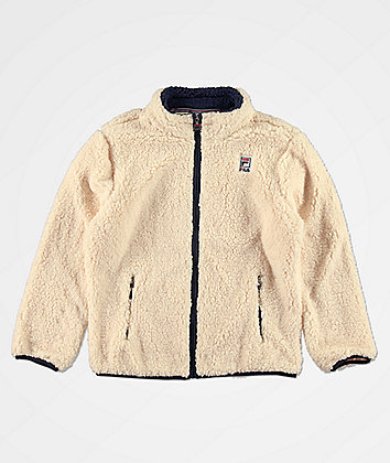 FILA Boys Bruno Sherpa Jacket