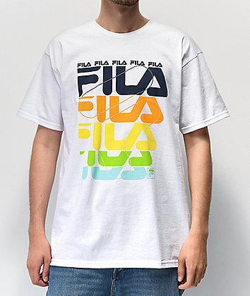 FILA Davion White T-Shirt